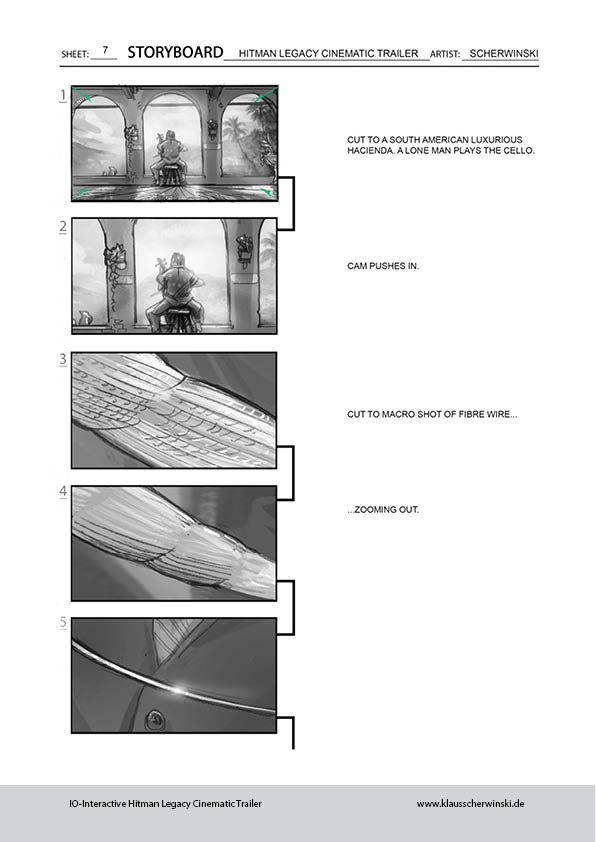 Klaus scherwinski hitman storyboards legacy trailer8