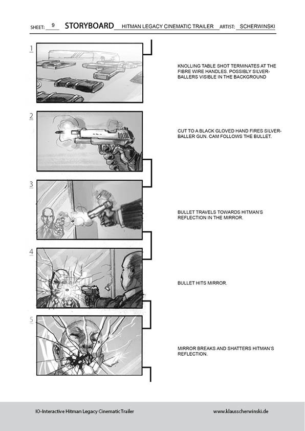 Klaus scherwinski hitman storyboards legacy trailer10