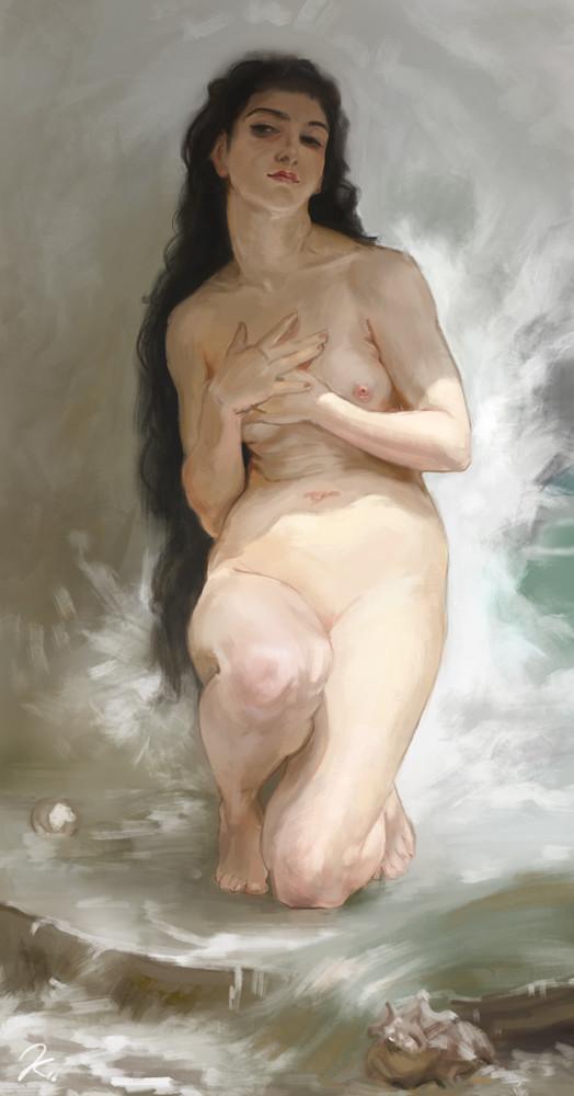 "16-03-18 William-Adolphe Bouguereau - ""La Perle"""