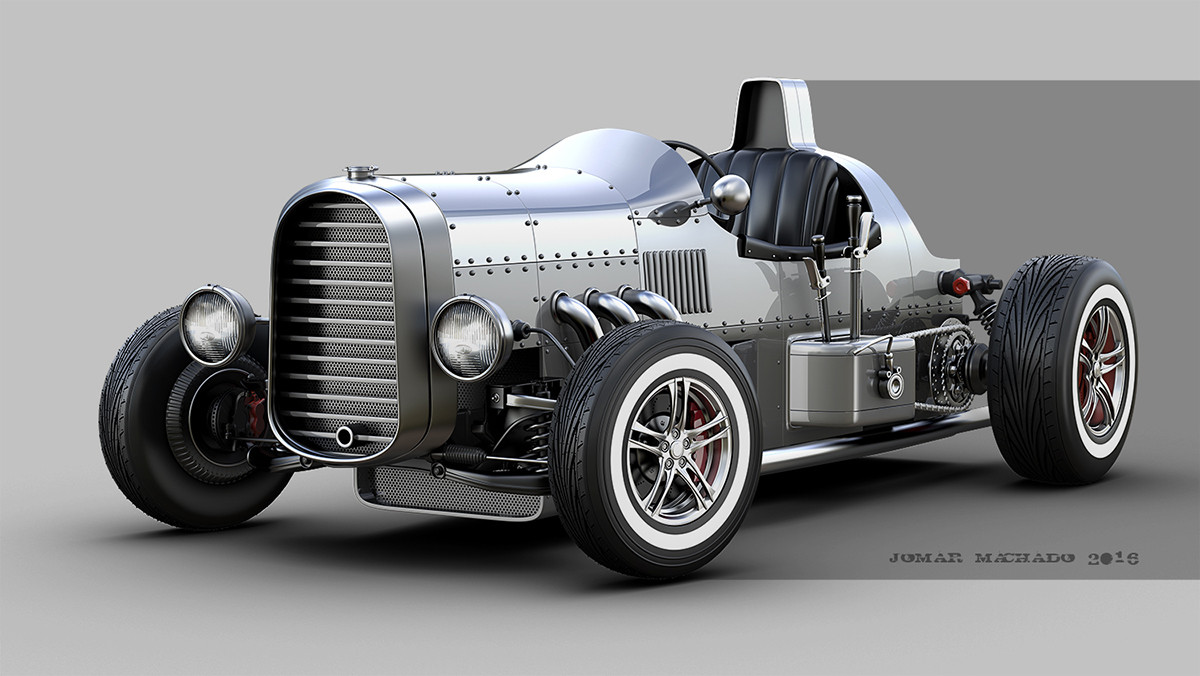 Jomar Machado - STREET RACE HOT ROD