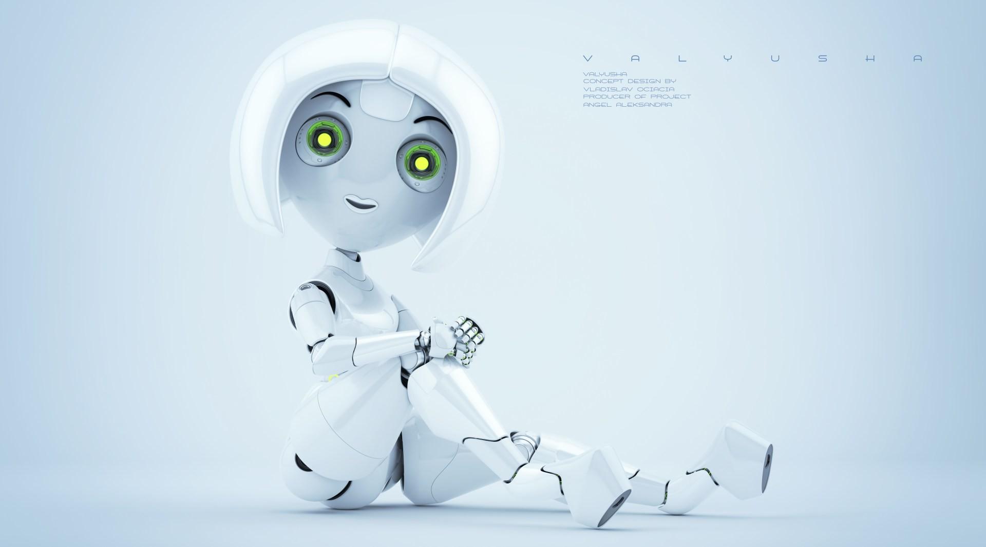 Vladislav ociacia trendy robotic girl valyusha 7
