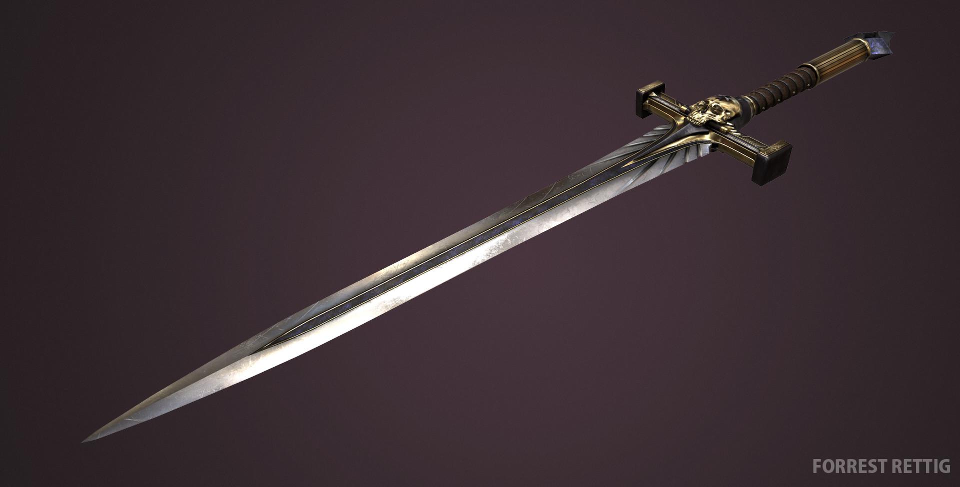 Forrest Rettig Warhammer 40k Power Sword
