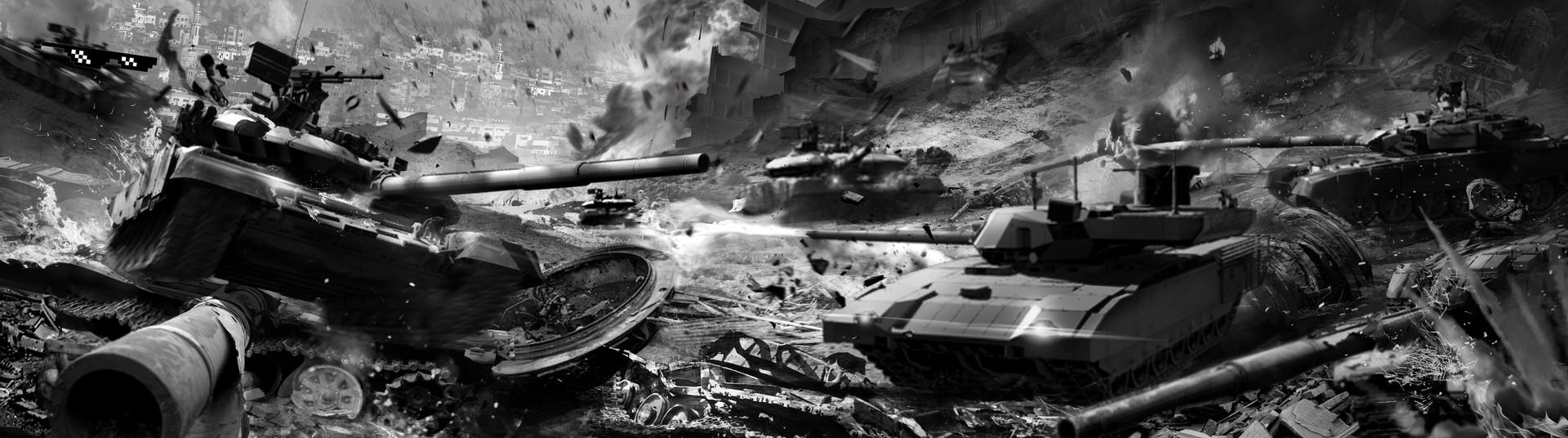 Anastasia Bulgakova - Tank battle