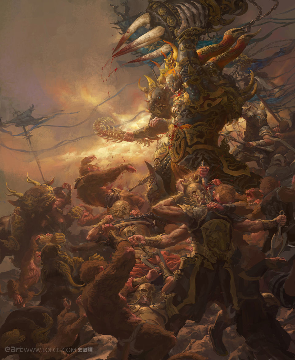 Fenghua zhong the monkeys war