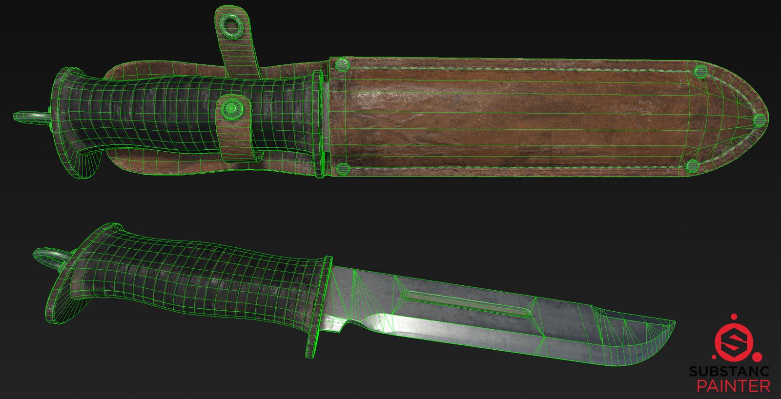 WW2 Waterman Knife