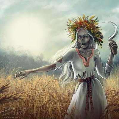 Dominika sikora poludnica makota middaylady slavic