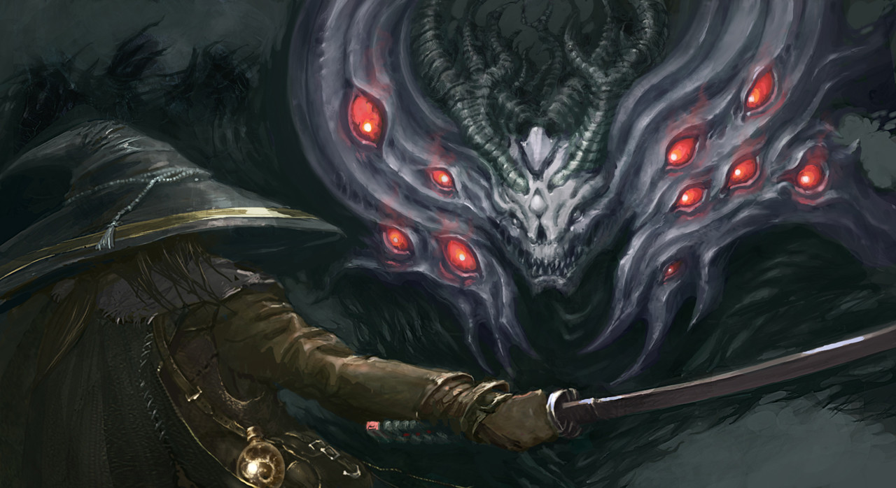 Artstation Manus Lord Of The Abyss Tyler Hunter
