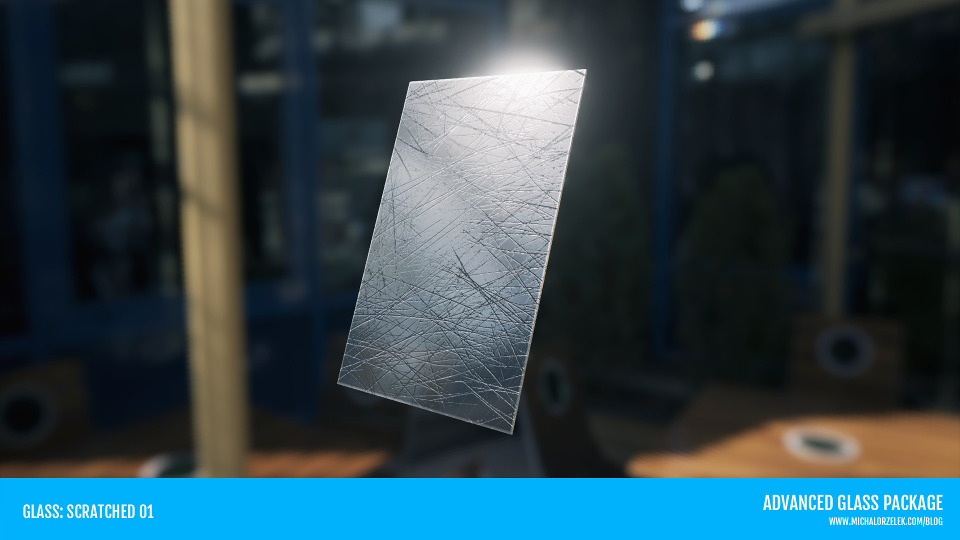 ArtStation - Advanced Glass Material Pack || UE4, Michal Orzelek