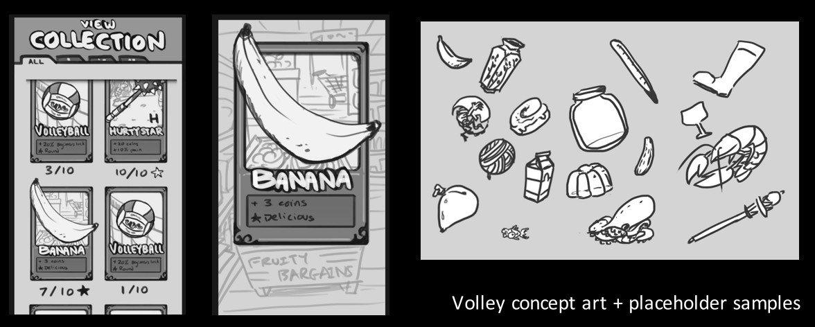 Concept art from early prototyping