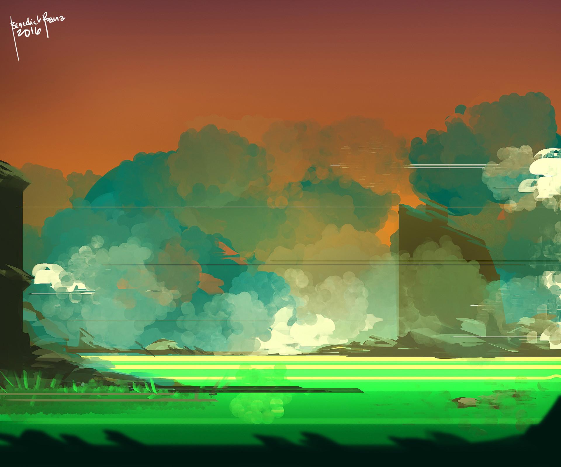 Benedick bana landscape 102