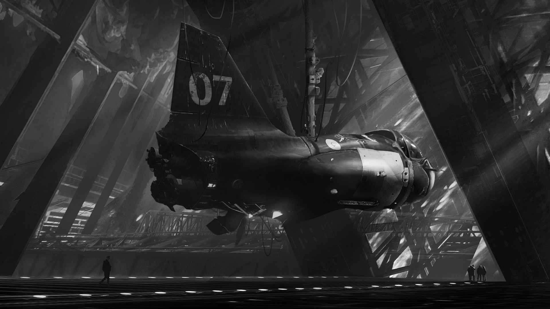 Ivan vujovic ship hangar