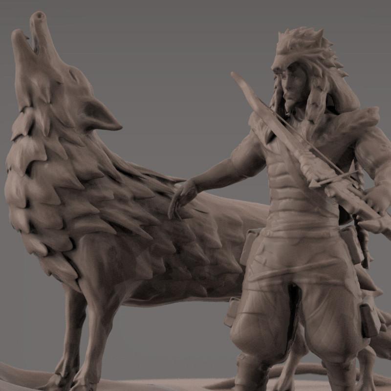 Wolf Hanzo: Blizzard/Overwatch Inspiration