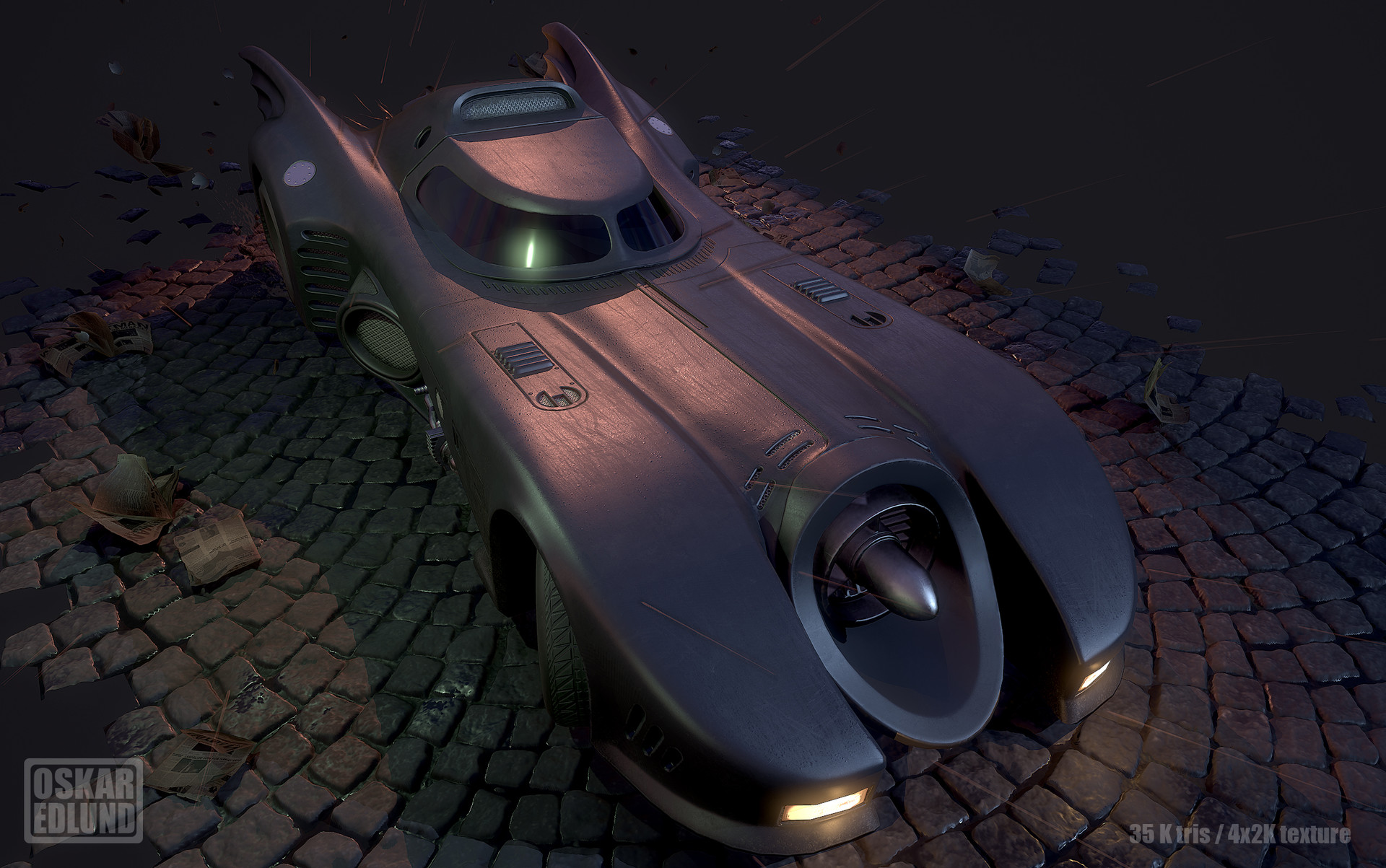 Oskar edlund batmobile 05