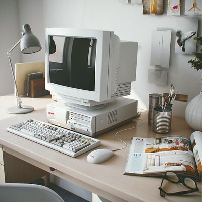 Ngurah arya old computer