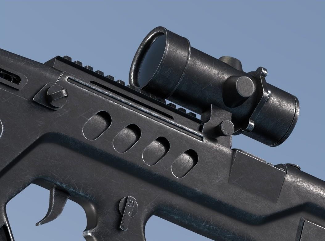 Francois rimasson rifle5