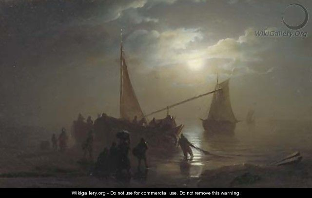 Lap pun cheung schendel nocturne the arrival of the fishing fleet