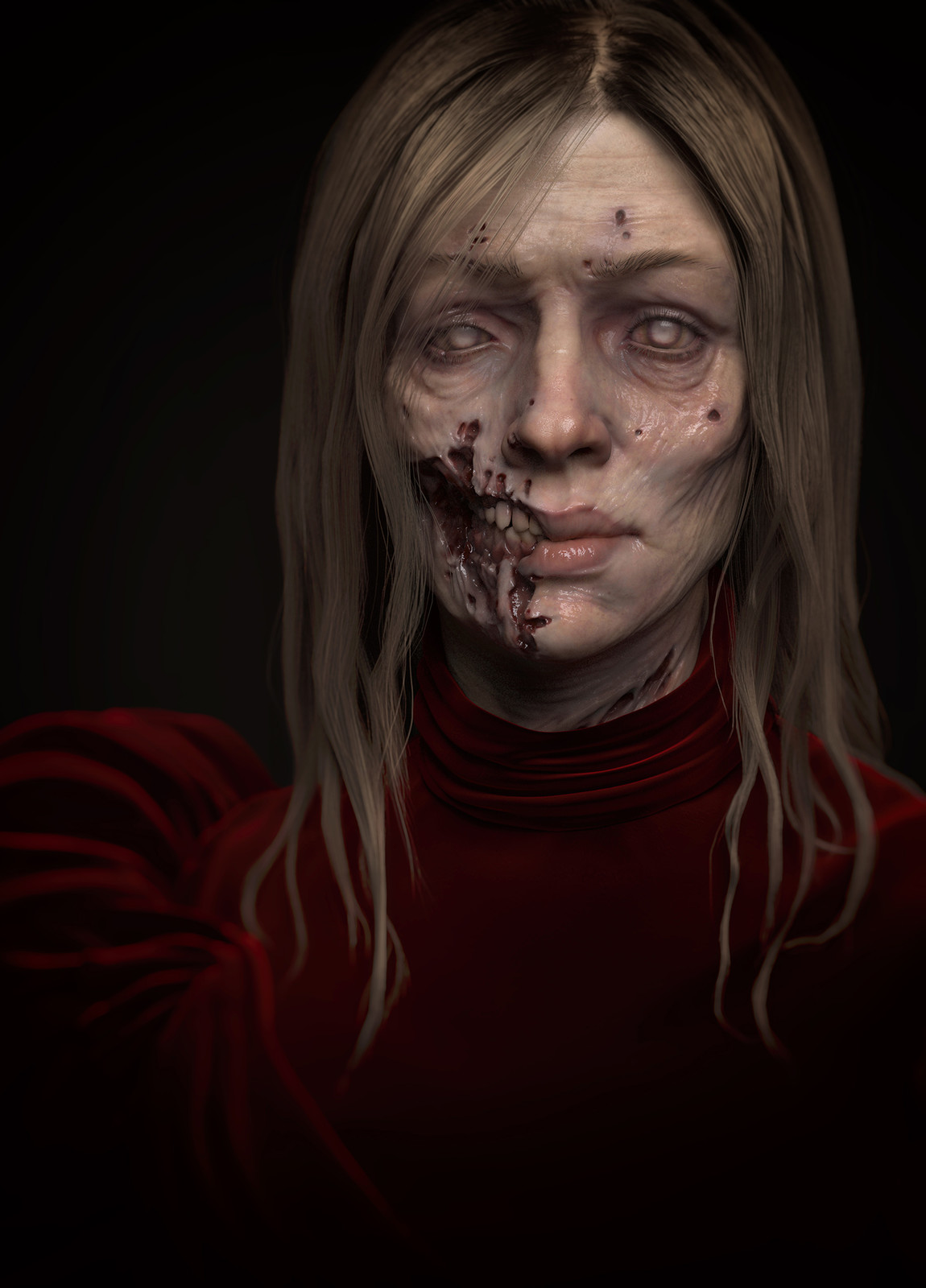 Zombie lady experiment