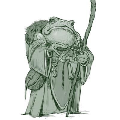 Vladimir kafanov vladimir kafanov frog wizard