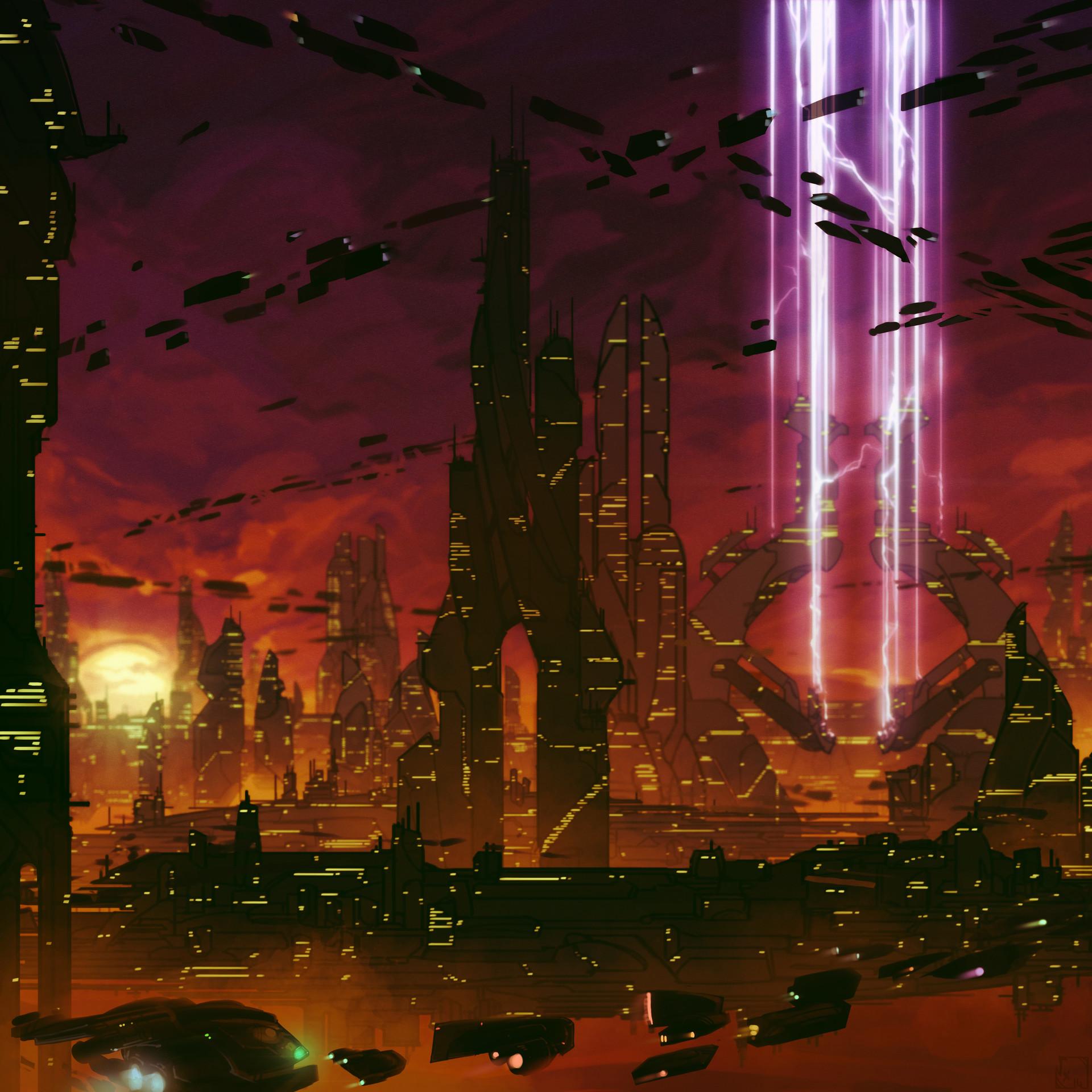 Etienne beschet cityscape