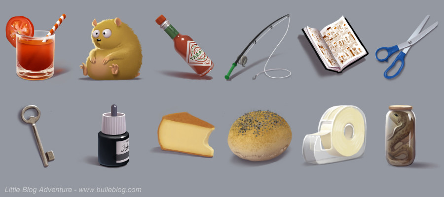 Objets / items