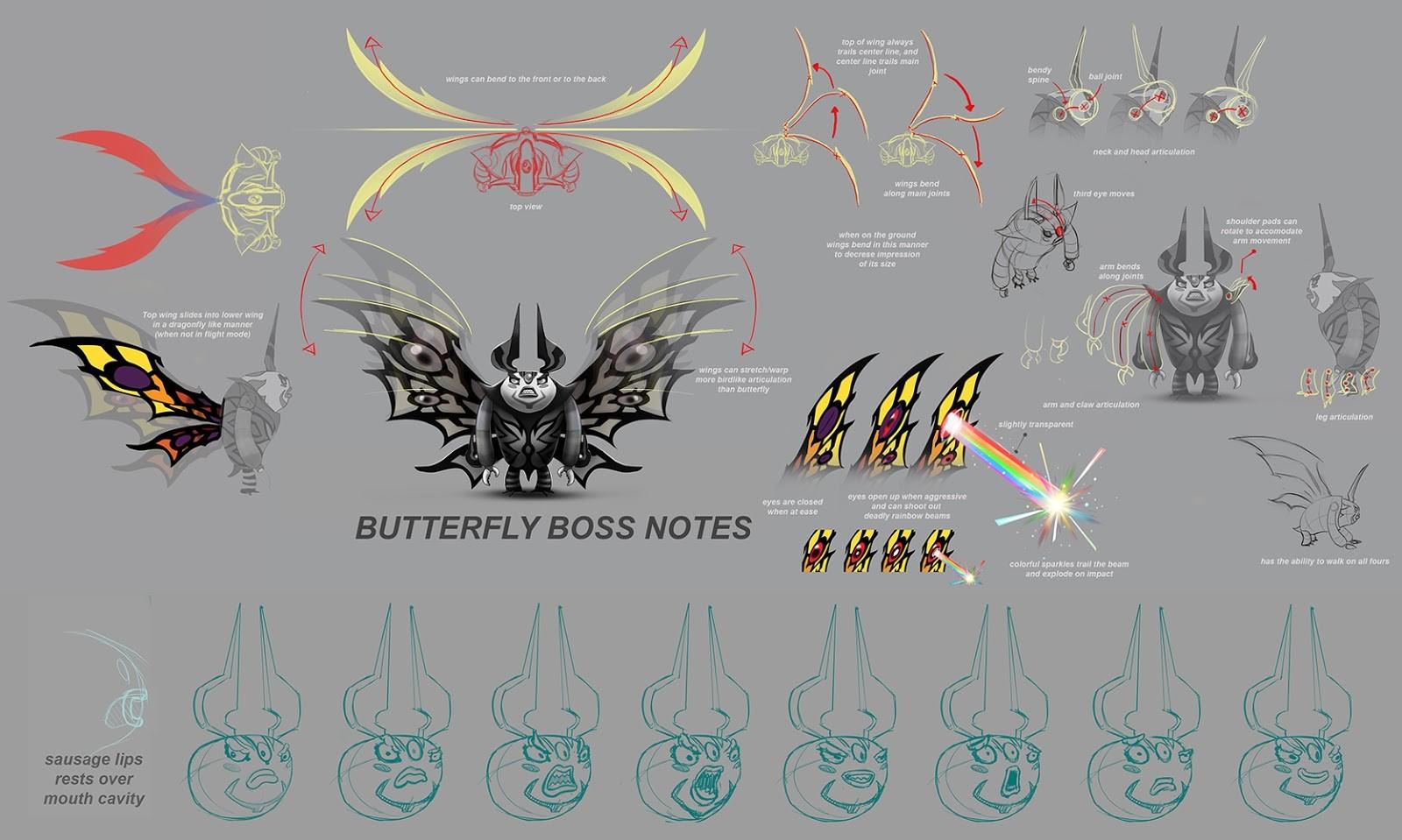 Jose cua butterfly boss notes
