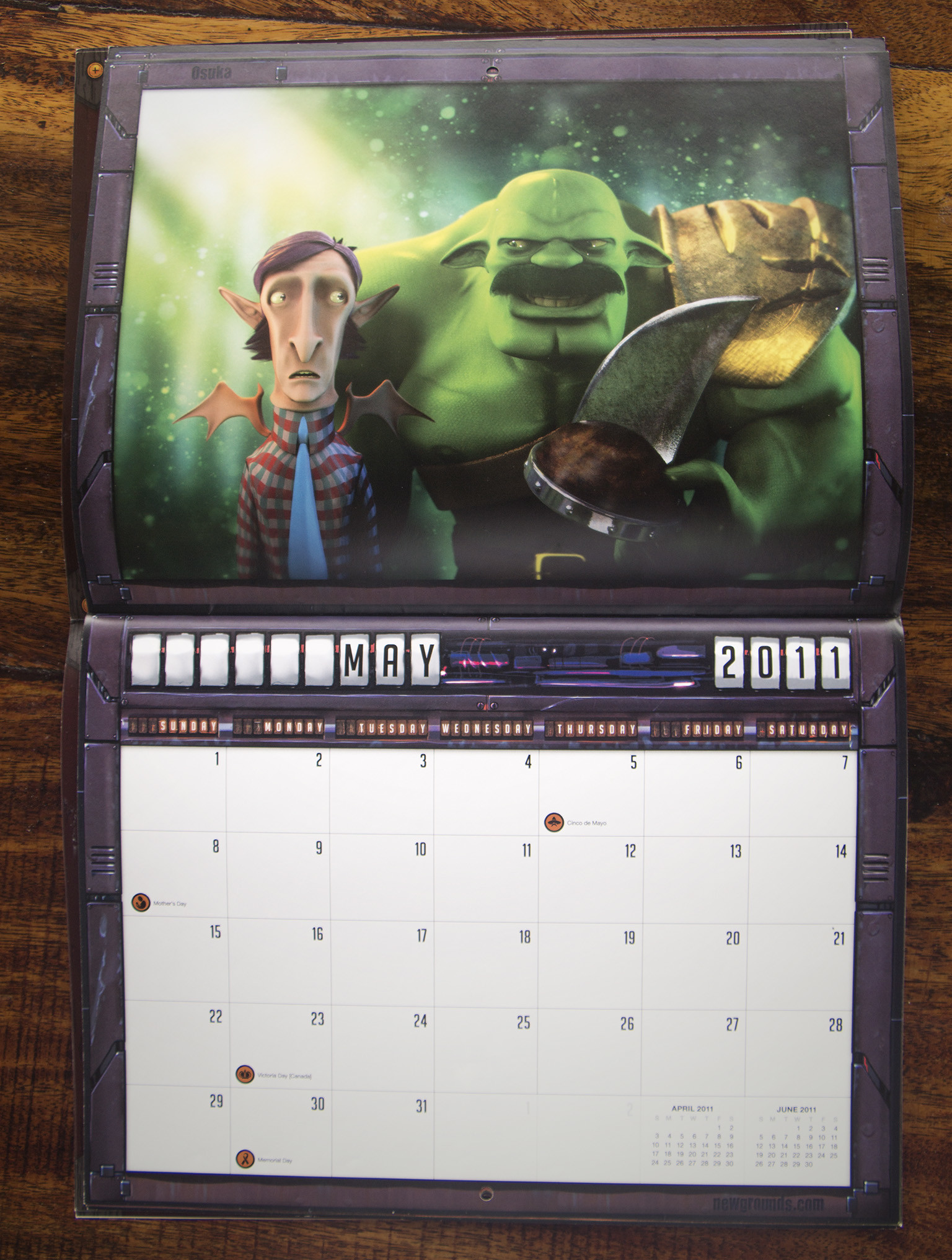 Oscar diaz calendargigantor