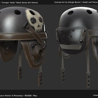 Laia aubao 01 laubao cinematics helmet render
