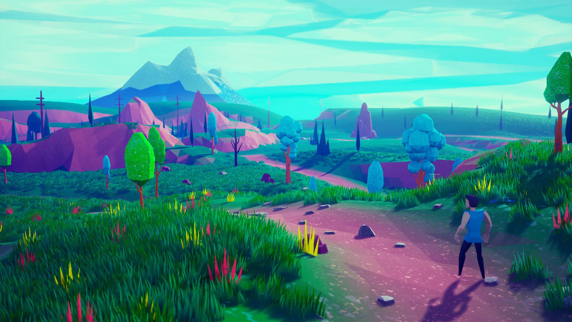 ArtStation - Lowpoly Stylized Project Update / Unreal Engine