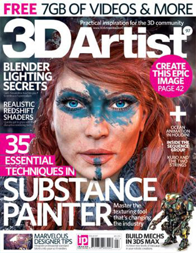 3D Artist Magazine cover