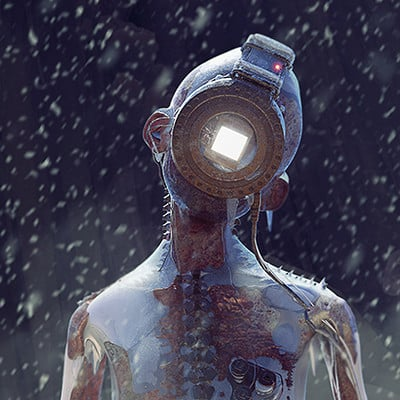 Bjorn barends cyborg ice klein