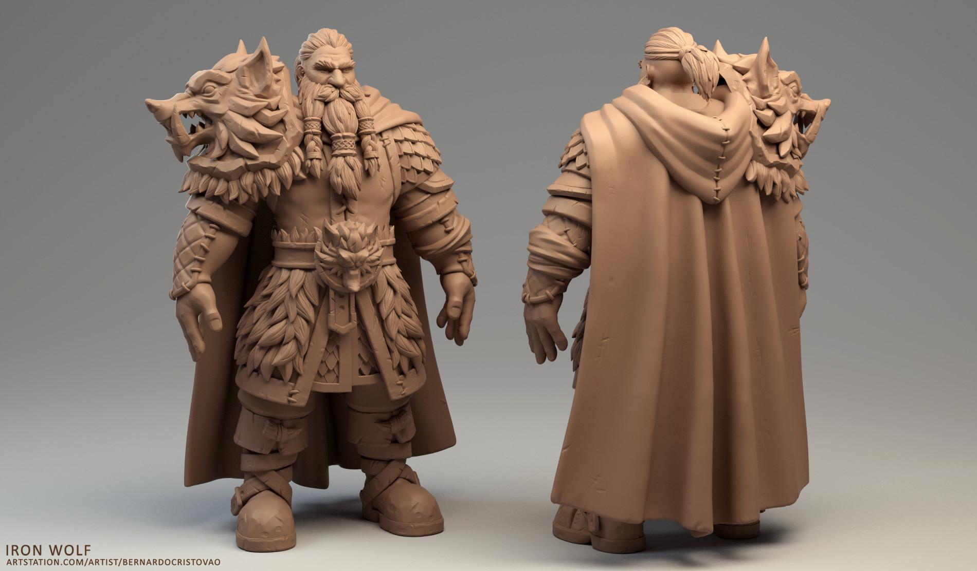 Bernardo cristovao ironwolf clay02