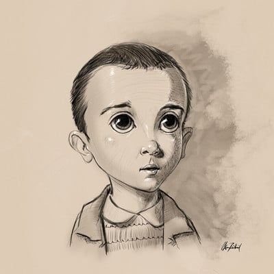 Okan bulbul eleven cartoony 01