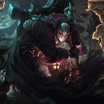 Mike azevedo yorick undertaker splash riot games mike azevedo