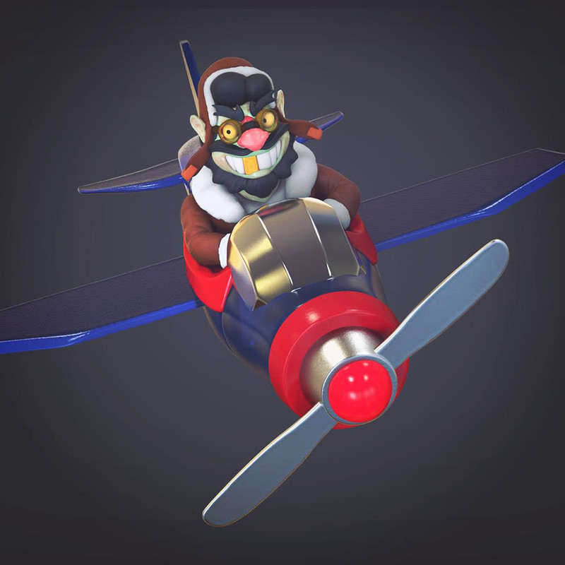Scoundrel Aviator & 3d Print