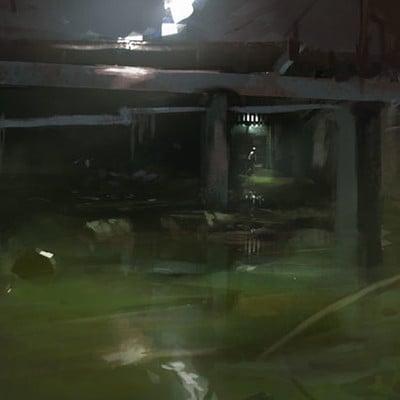 Mateusz michalski flooded basemen2t