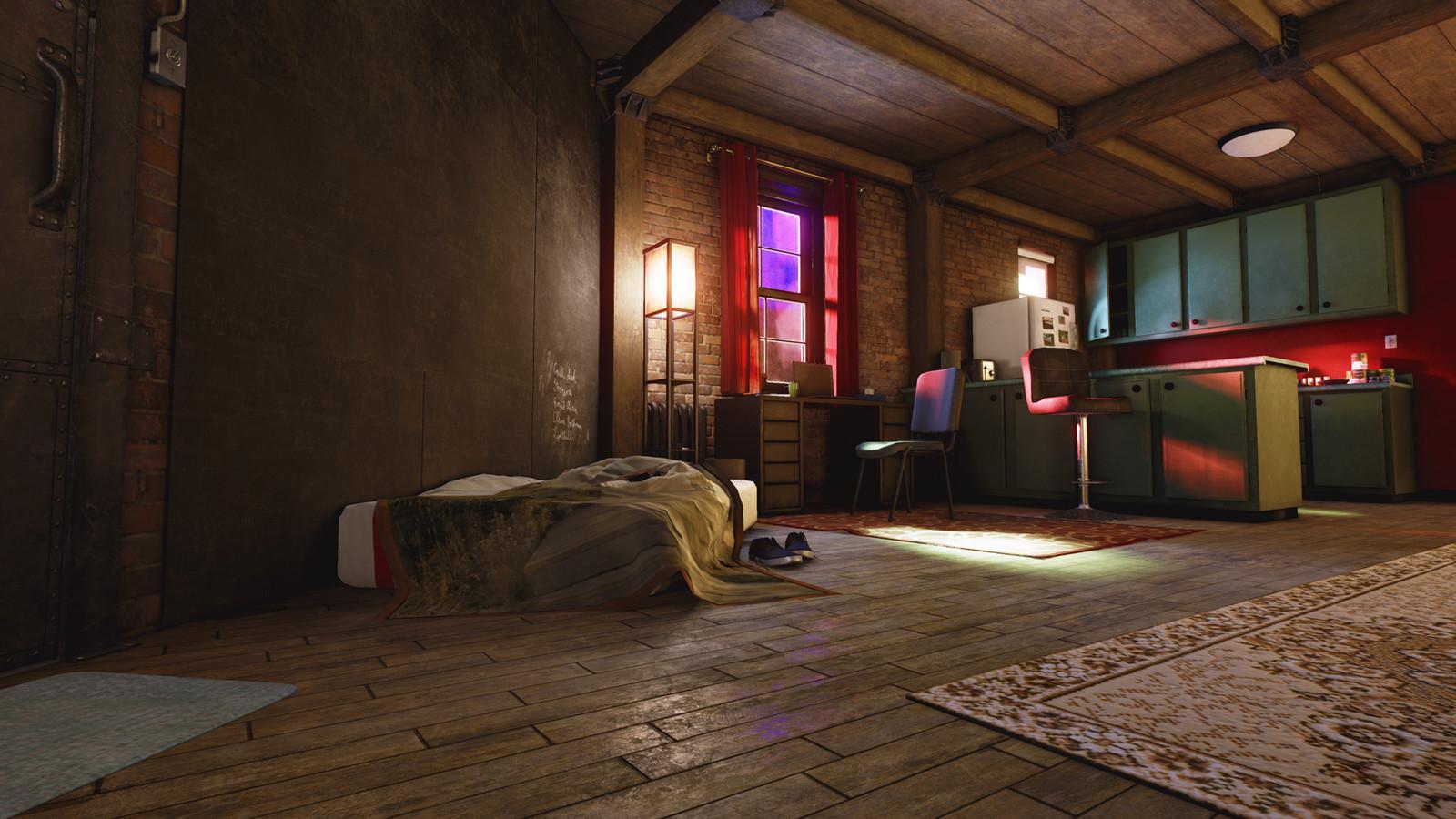 Ian Watson's Apartment