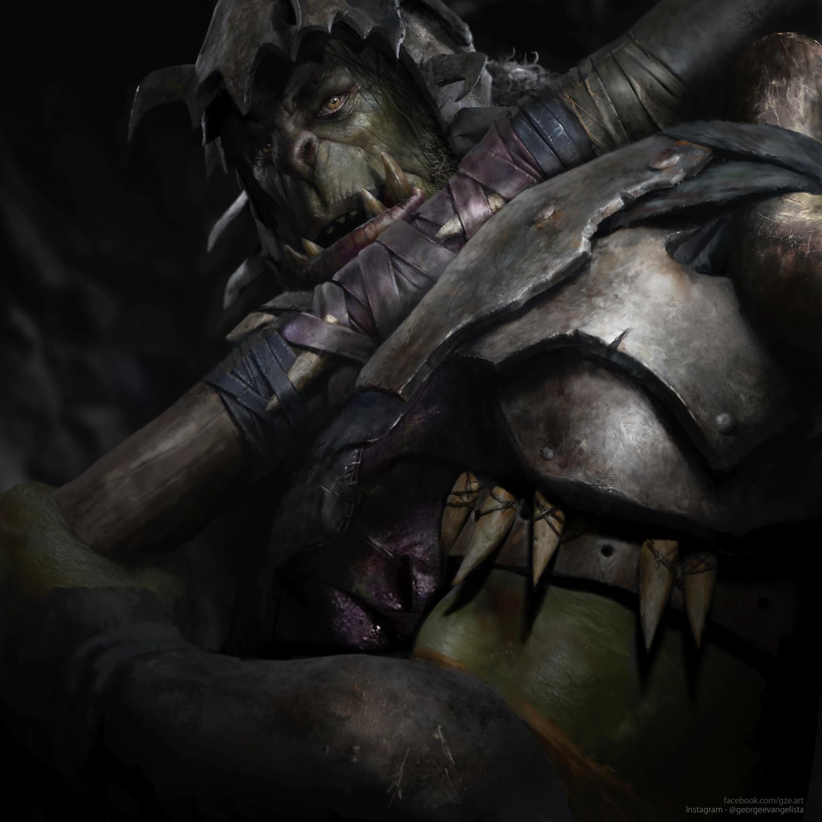 Orc - LOTR Warcraft Hybrid