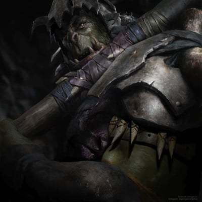 George evangelista orc knight