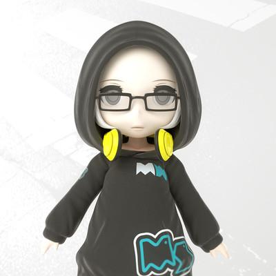 Masatomo suzuki hoodedgirl 00