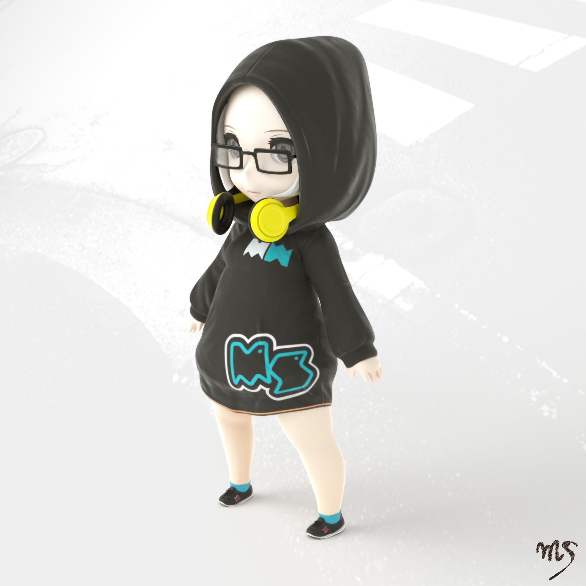 Masatomo suzuki hoodedgirl 01