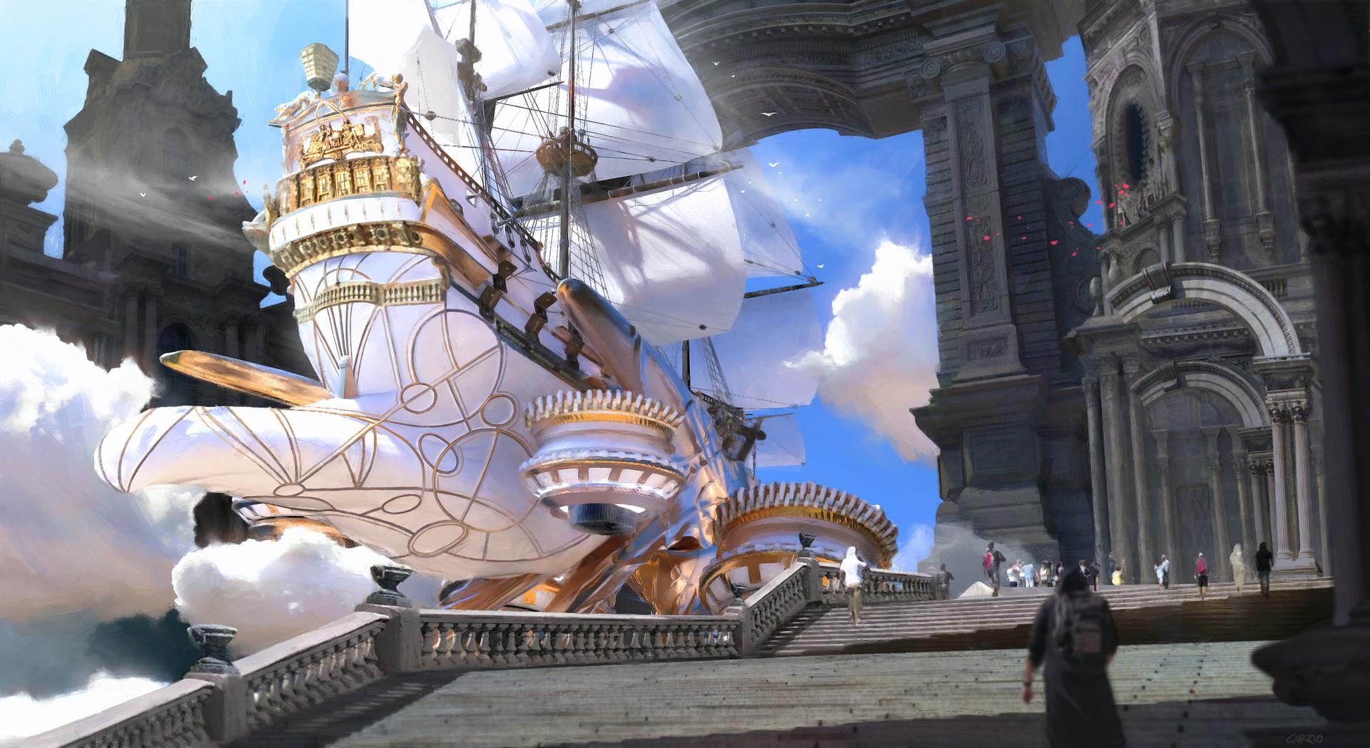 Pablo carpio ship