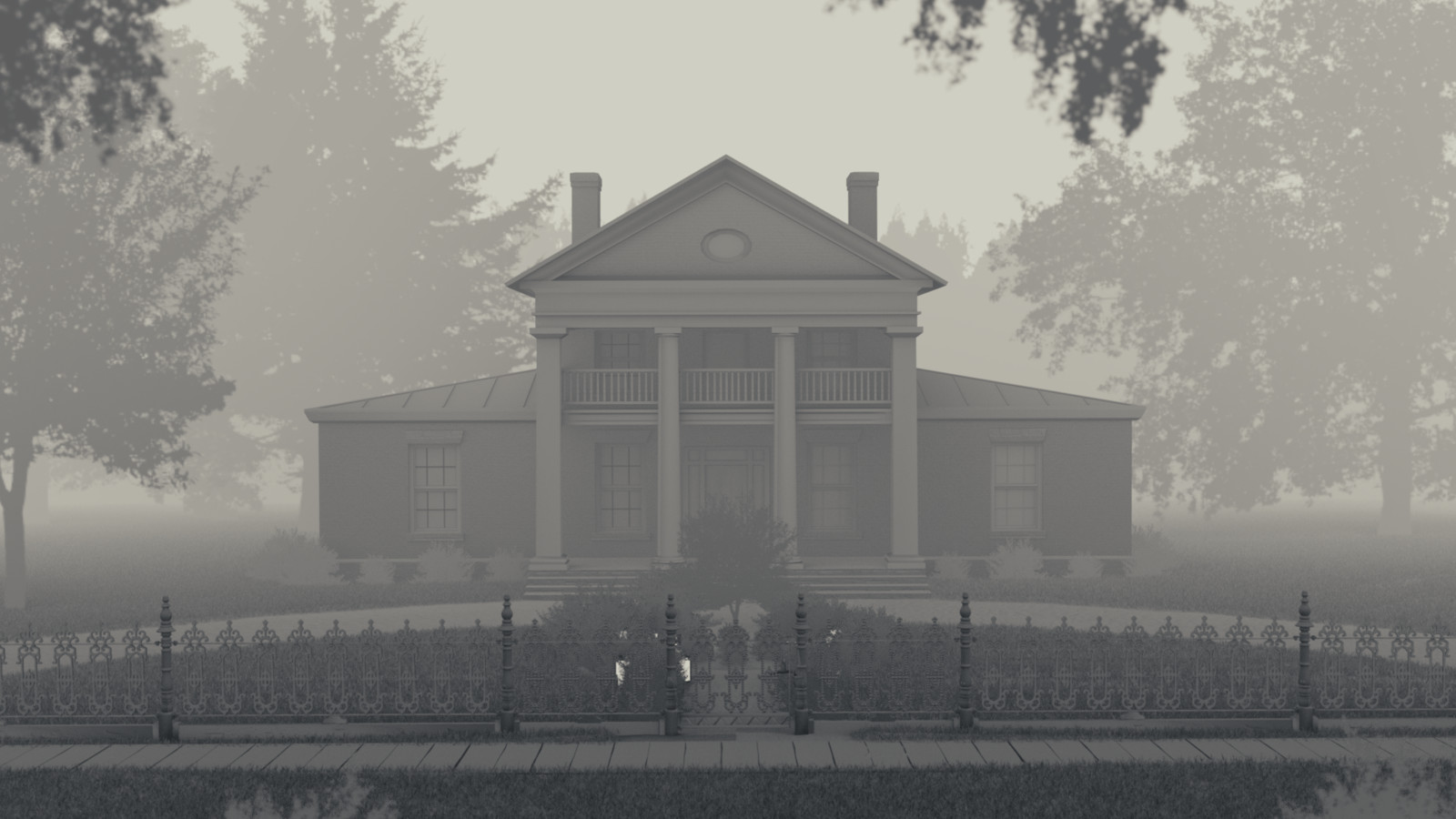 An 'atmospheric' render (AO and Mist passes)