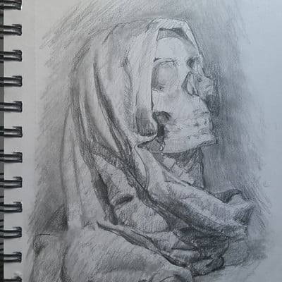 Sebastian horoszko study skull