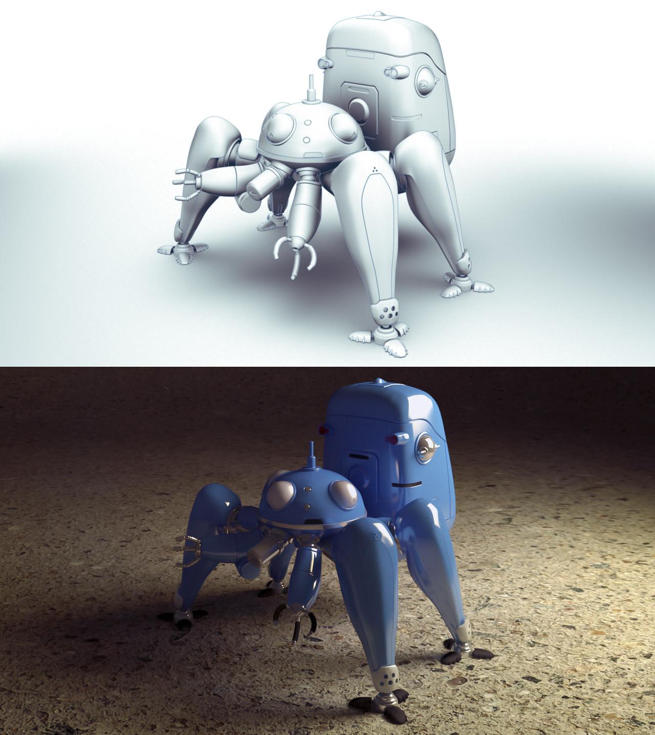Tachikoma 3D project