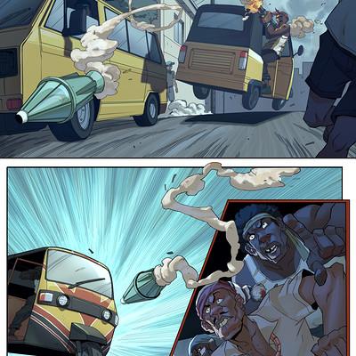 Ifesinachi orjiekwe wreackless comic page 3