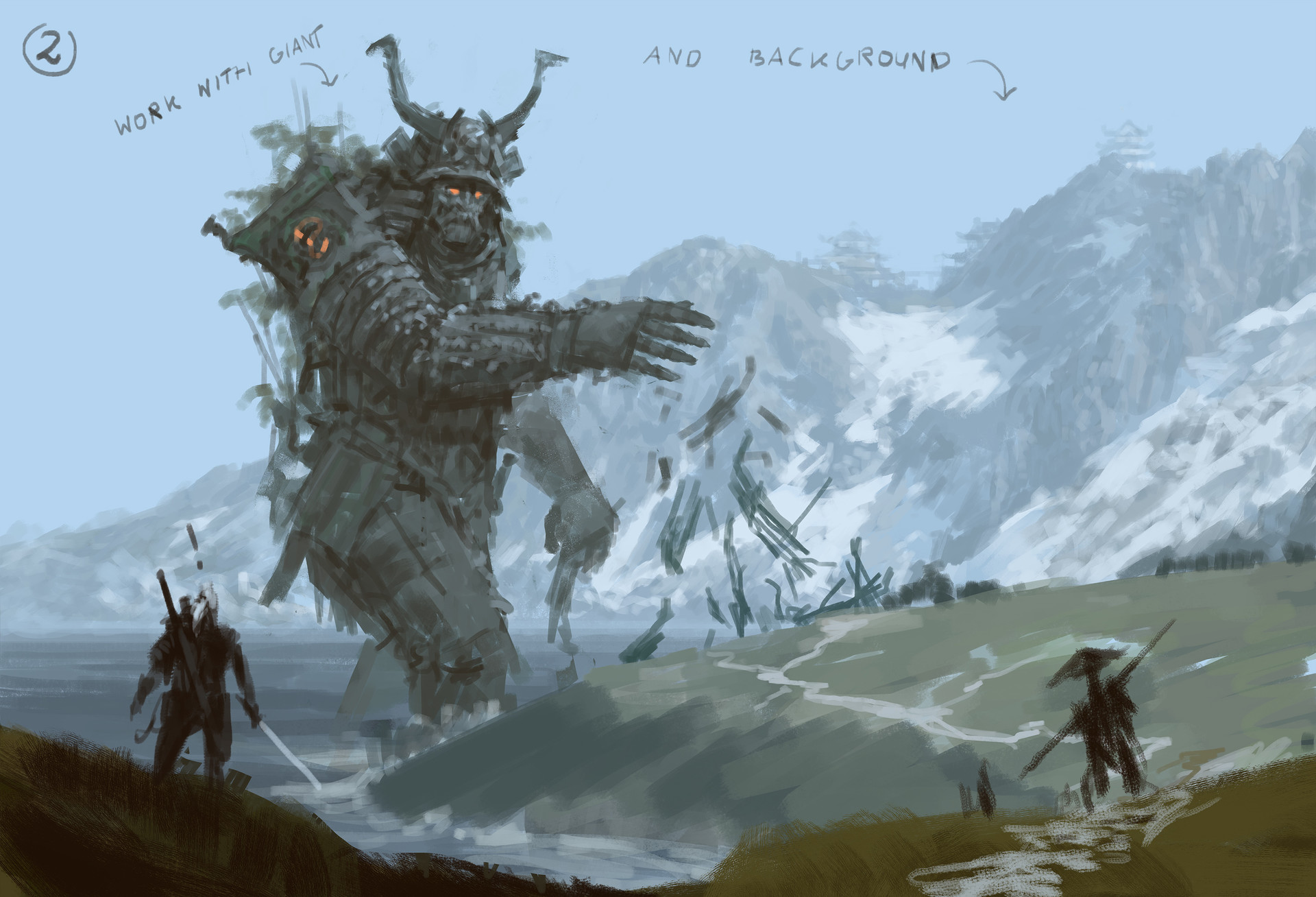 Jakub rozalski ancients conceptart 06process2