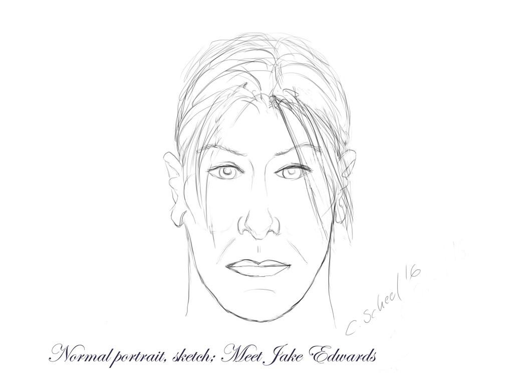 ArtStation - Sketching an isometric character, Charlotte Scheel