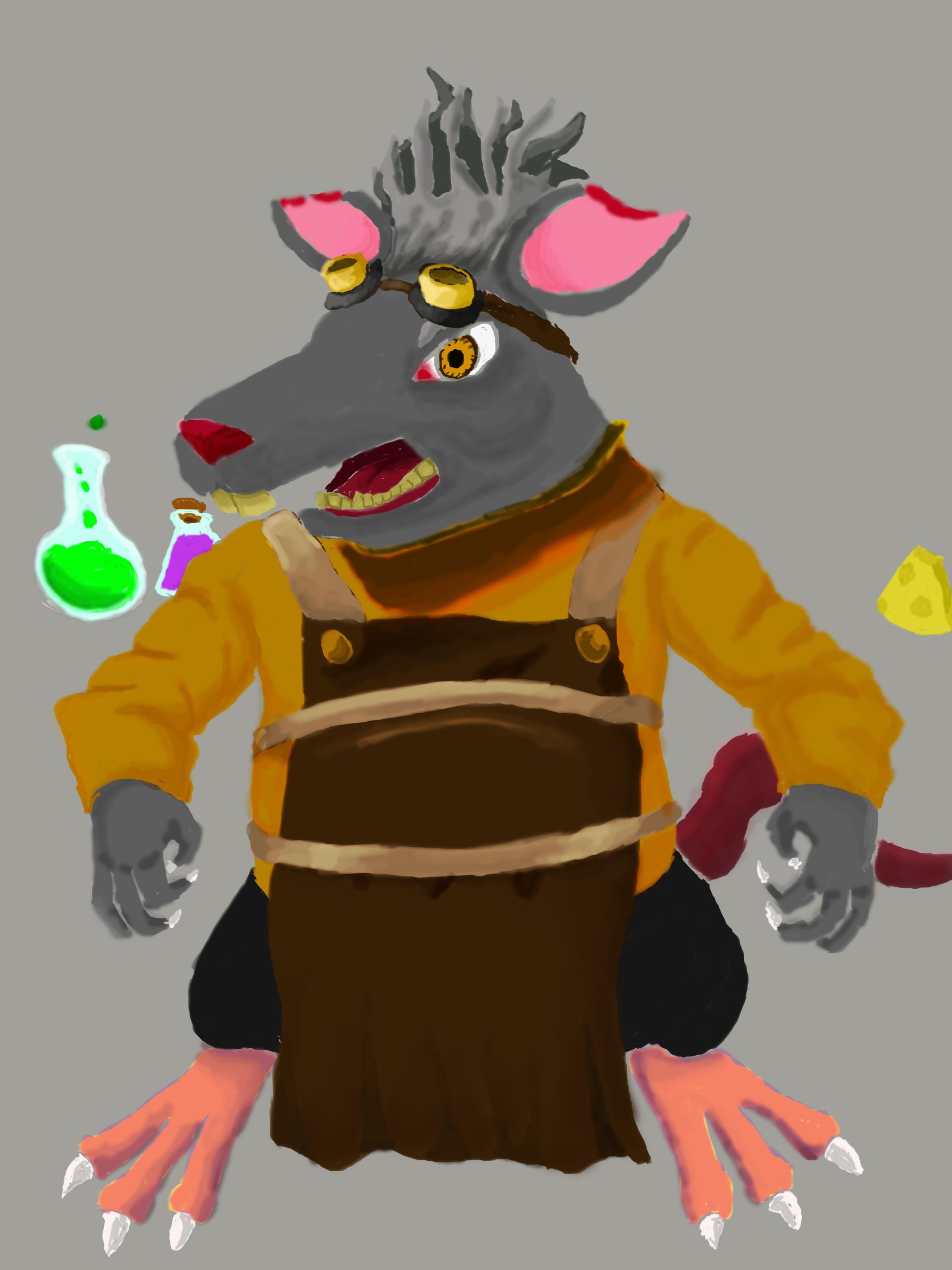 Mitchell sisson rat scienctist 2