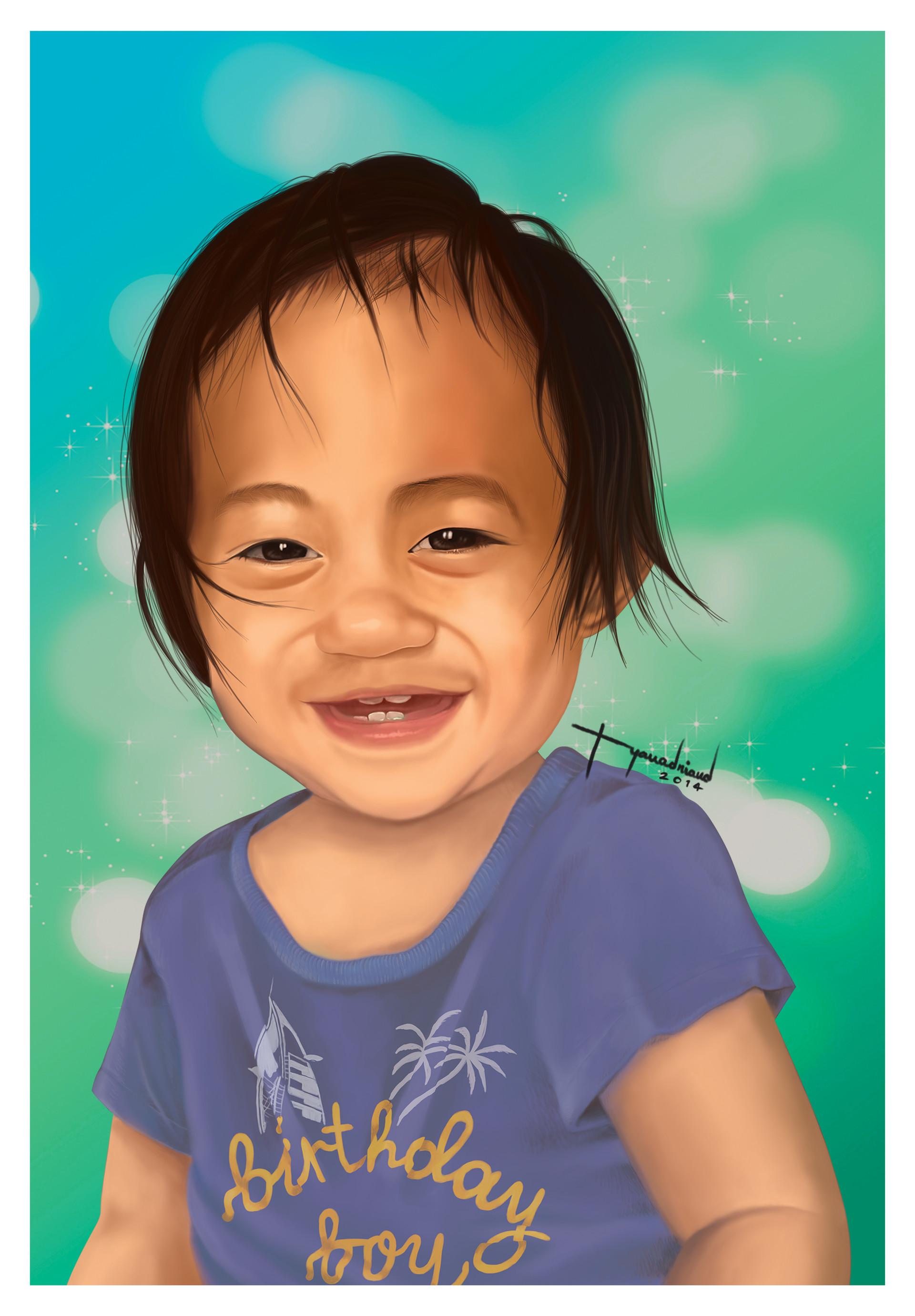 Rye adriano baby elijah portrait