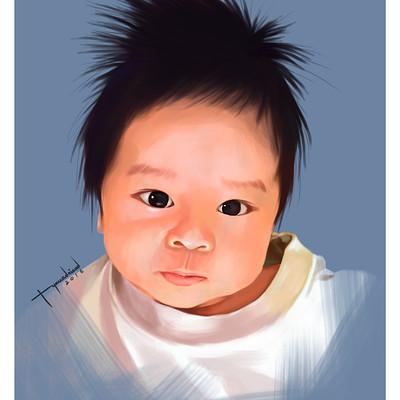 Rye adriano baby jacob portrait